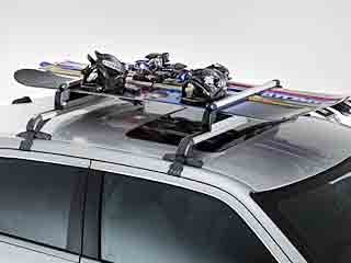 2005 -2012 Chrysler 300 Roof-Mount Ski & Snowboard Carrier - Thule by Mopar