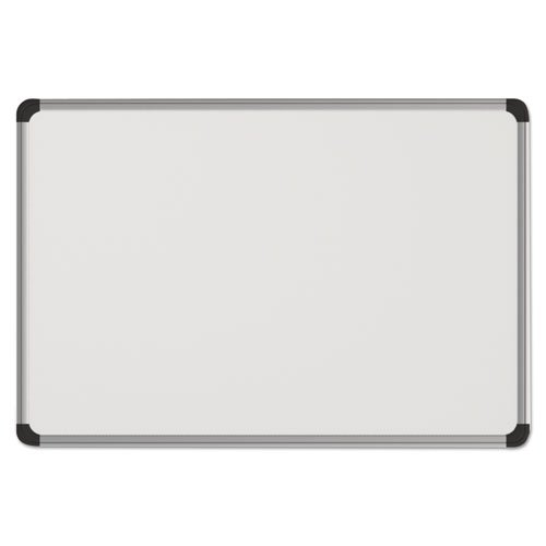 Universal 43734 Magnetic Steel Dry Erase Board, 48 x 36, White, Aluminum Frame by Universal One