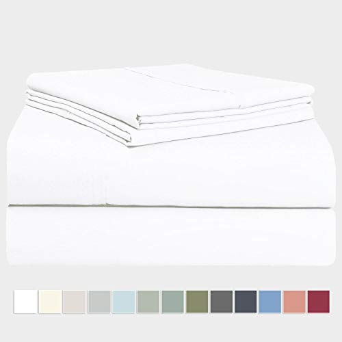 Pizuna 400 Thread Count 100% Long Staple Cotton Sateen Weave Bed Linen (Sheet Sets, Duvet Cover Sets, Pillow Cases)