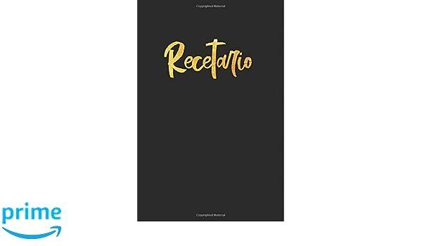 ... libro de recetas en blanco para escribir. Regalo original perfecto para mujer, hombre. Para cualquier ocasión: cumpleaños, navidad, amigo invisible.
