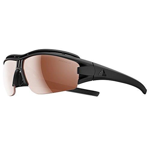 adidas Evil Eye Halfrim Pro S Sunglasses 2018 Black Matte LST ()