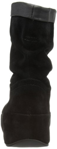 plataforma Fitflop marrón Botines Boot Crush Color Negro Negro qqOgtBS