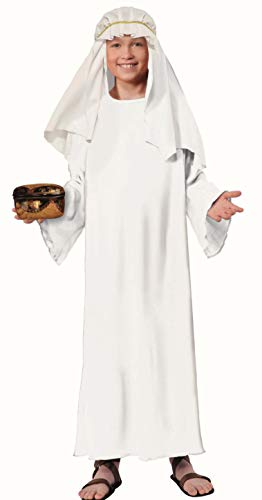 Forum Child's Value Wise Man Costume, White,