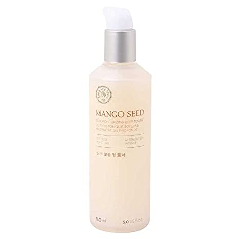 [The Face Shop] Mango Seed Silk Mositurizing Toner For Dry Skin, 50m L/1.69 Oz by Thefaceshop