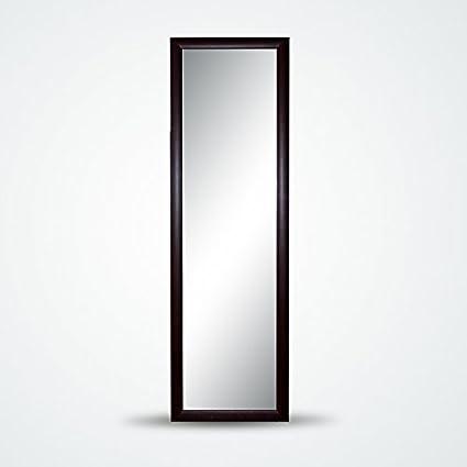 Specchio Da Parete Con Cornice In Legno Stretto E Lungo Ideale Per Camera Da Letto Da