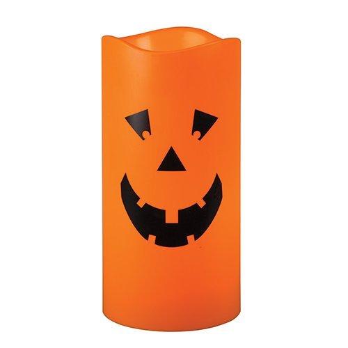 Halloween Lantern (Jack-O-Lantern LED Halloween Indoor/Outdoor Candle 6
