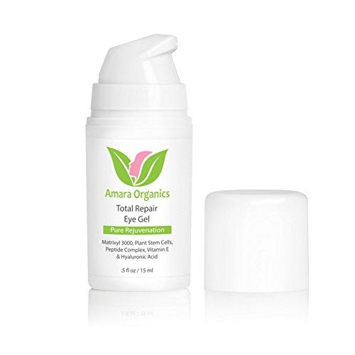 Augengel Creme Antifalten für Augenringe und Tränensäcke mit Peptiden & Hyaluronsäure - 15 ml