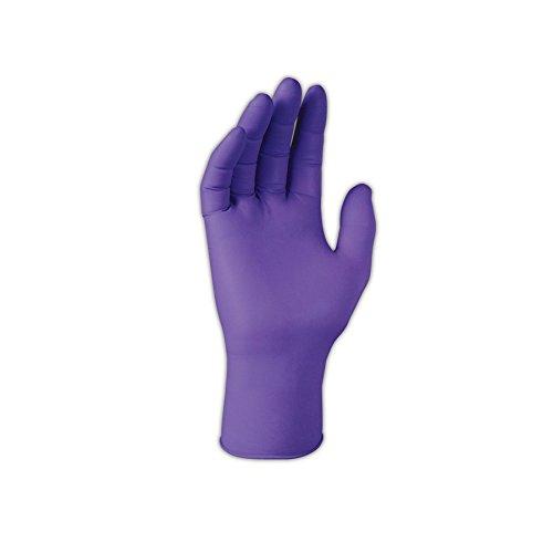 Kimberly-Clark 55082 S5200 6 Mil 9.5'' Disposable Nitrile Exam Gloves, Medium, Amber Purple, Medium (Pack of 100) by Kimberly-Clark Professional