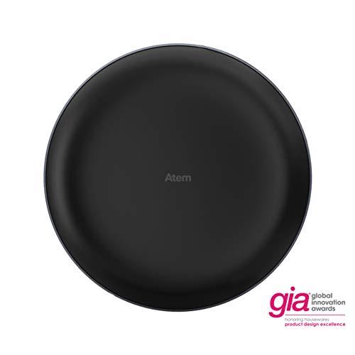 IQAir [Atem Car Air Purifier [HyperHEPA Filter] Portable, Air Pollution, Cabin Filter, App Enabled, Allergies, Asthma, Pollen, Dust; Swiss Made