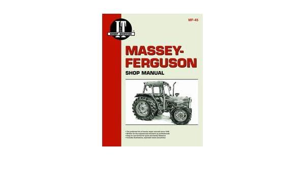 Amazon.com: Massey Ferguson 383 Tractor Service Manual (IT Shop): Home  ImprovementAmazon.com