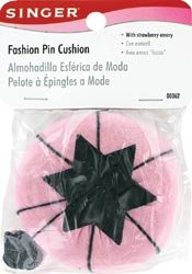 Singer Fashion Pin Cushion with Strawberry - Pin Cushion Spool