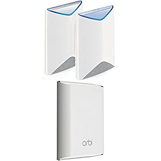 NETGEAR Orbi Pro Business Indoor Outdoor Mesh WiFi System 4-Pack - 10,000 sqft, AC3000 Tri-band, Single Network Name, Replaces Access Points (SRK60 + RBS50Y x2) (B079LKX5CW) | Amazon price tracker / tracking, Amazon price history charts, Amazon price watches, Amazon price drop alerts
