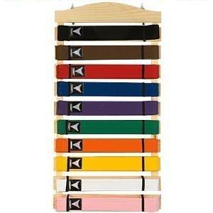 Ten Level Martial Arts Karate Belt Display