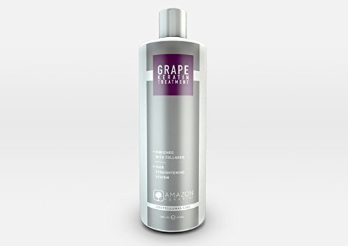 Amazon Professional Line Grape Keratin Hair Straightening Treatment 32oz by Amazon Keratin