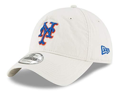 - New Era New York Mets MLB 9Twenty Core Classic Stone Adjustable Hat