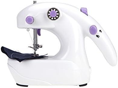 Anself Mini Máquina de coser eléctrica Baterías Operado de ...