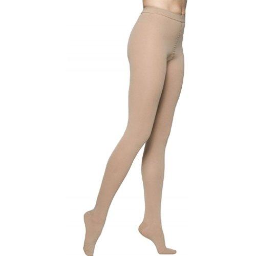 Sigvaris Access 973PMLW99 30-40 mmHg Womens Closed Toe Pantyhose, Black, Medium-Long