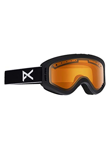 Anon Tracker Kids Black Snow Goggles One Size ()
