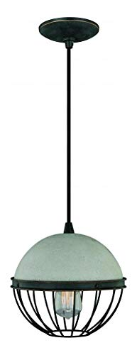 (10In. Mini Pendant Black Iron)