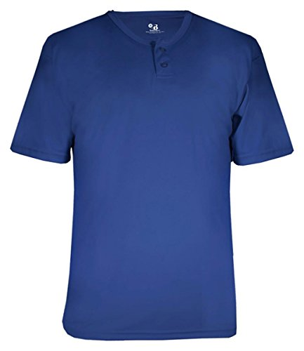 Badger Sport Adult B-Dry Core Henley Tee (B7930)