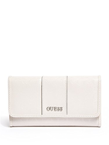 Guess Handbags Wallets - GUESS Factory Women's Ware Patent Logo Slim Wallet