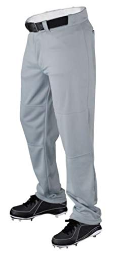 Wilson Youth Polyester Knit Relaxed Fit Baseball Pants Gray