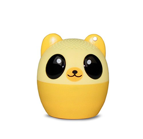 My Audio Pet (Gen 1) Mini Bluetooth Animal Wireless Speaker with Powerful Rich Room-filling Sound - 3W audio driver - Remote Selfie Function - for iPhone/iPad/iPod/Samsung/HTC/Tablets - BOOM BEAR