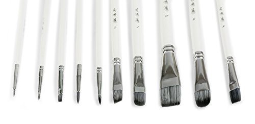 Buy synthetic brushes for acrylic painting