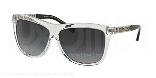 Michael Kors 6010 301511 Clear Benidorm Wayfarer Sunglasses Lens Category - Kors Michael Wayfarer