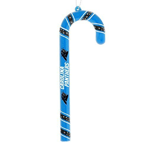 NFLCandy Cane Carolina Panthers