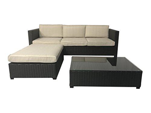 Ebony Sofa - 3