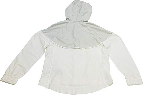 Nike Womens Windrunner Track Jacket Sail/Light Bone/White 883495-133 Size X-Small by Nike (Image #2)