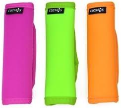 Cosmos 3 PCS Comfort Neoprene Handle Wraps/Grip/Identifier for Travel Bag Luggage Suitcase