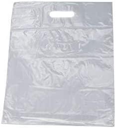 PGV - Bolsas de plástico transparentes con asa, de ...