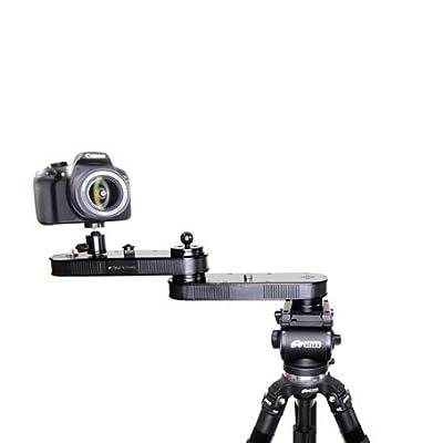 "Image of Camera Sliders Digital Juice Twin Action Magic Slyder 11"" Portable Affordable Foldable Aluminium Crane Slider Dolly for DSLR Camera DV Video Camcorder Film Photography"