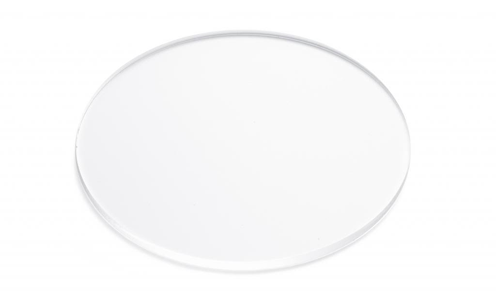 Clear Acrylic Round Circle Shapes x 10 3mm Acrylic Perspex Range of Sizes