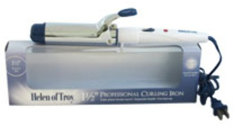 Helen Of Troy Hair Roller (Helen Of Troy - Professional Curling Iron - Model # 1518 - White (1.5 Inch) 1 pcs sku#)