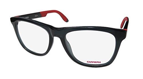 Carrera 4400 Eyeglass Frames CA4400-0HBE-5318 - Gray Black Red Frame, Lens Diameter 53mm, - Carrera Eyeglass Frames