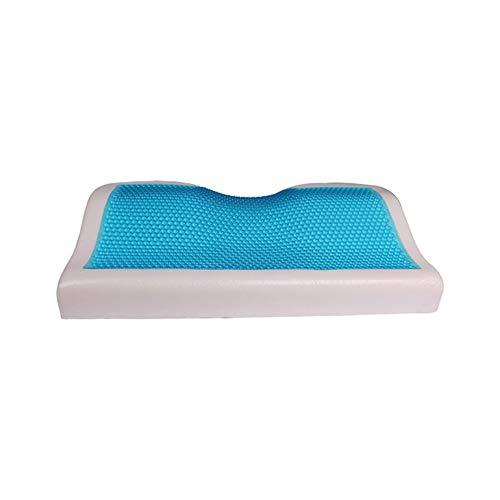 Gel Memory Foam Pillow Memory Foam Cool Gel Pillow Summer Ice-Cool Sleep Blue Cooling Comfort Gel Bed Pillow Cushion For Home Beddings