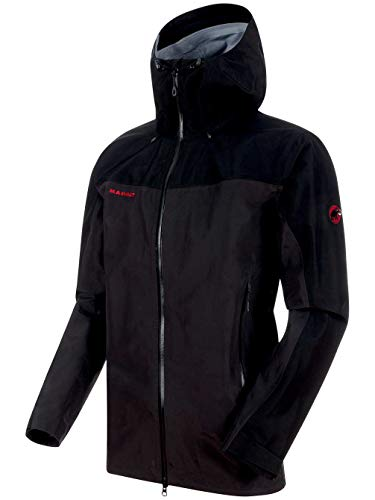 Mammut 1010-21751 Men's Crater HS Hooded Jacket, Phantom/Black - L from Mammut