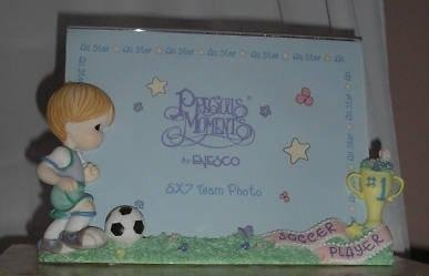 Precious Moments - Boy Soccer Player Photo Frame by Enesco