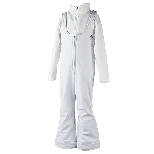 Obermeyer Kids Girls Snell Stretch Pant White 4 by Obermeyer Kids