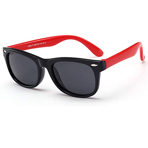 Kids Sunglasses Polarized Sunglasses Flexible Rubber Toddler Sunglasses for Boys Girls Age 2-10
