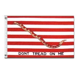 (First Navy Jack Flag (3 ft. x 5 ft.))