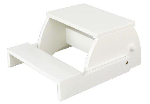 Large Flip Stool (Large Flip Stool - White)