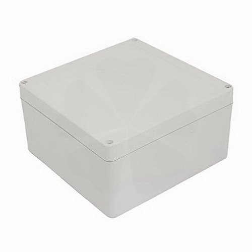 Electrical Boxes 190mmx185mmx100mm ABC Dustproof Junction Box Electric Project Enclosure By Houseuse by Houseuse