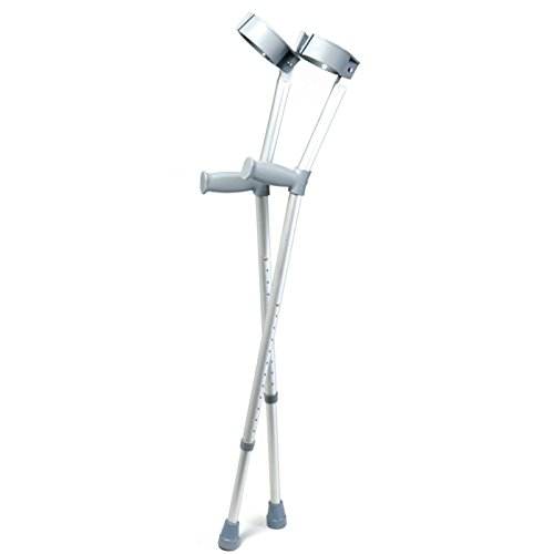 Days Forearm Crutches, Tall Adult Size, Turning Arm Cuffs...