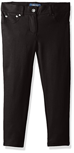 Rhinestone Black Pant - 8