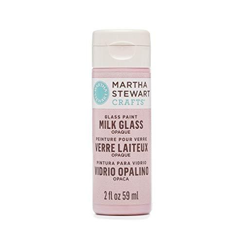MARTHA STEWART Opaque Milk Glass Roseite, 2 oz Paint