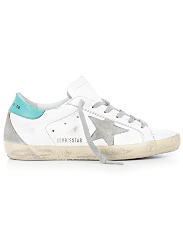 Gouden Gans Dames G32ws590g66 Witte Lederen Sneakers